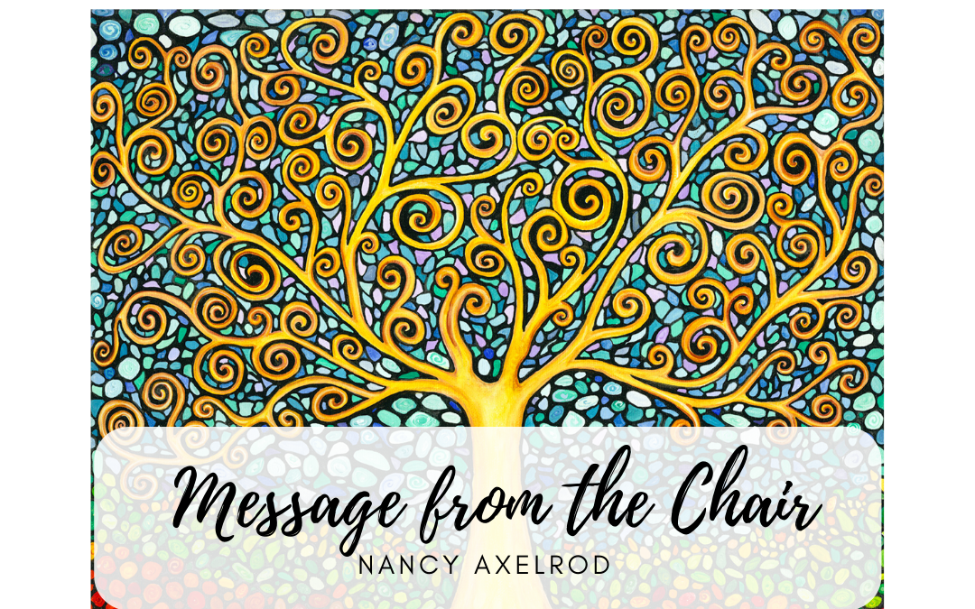 September Message from the Chair – Nancy Axelrod